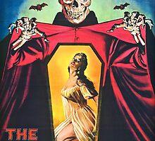 The Undead 1957 Original Poster Artwork by crampedmisfit90