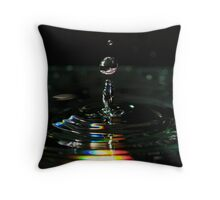 Suspend Color Throw Pillow