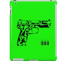 Pistol tribal iPad Case/Skin
