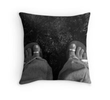 Feet Throw Pillow