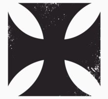 Iron cross in black. Kids Tee