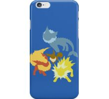 Eevee (Vaporeon - Jolteon - Flareon) iPhone Case/Skin