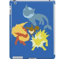 Eevee (Vaporeon - Jolteon - Flareon) iPad Case/Skin