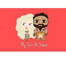 Game of Thrones Valentines: My Sun and Stars Photographic Print