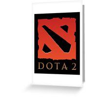 DOTA 2 Logo Greeting Card