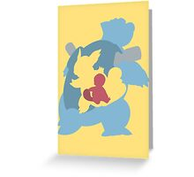 Squirtle - Wartortle - Blastoise Greeting Card