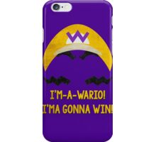 I'm-a-Wario! iPhone Case/Skin
