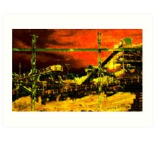 Jamestown Quarry Art Print