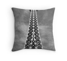No. 26, La Tour Eiffel de Vegas Throw Pillow