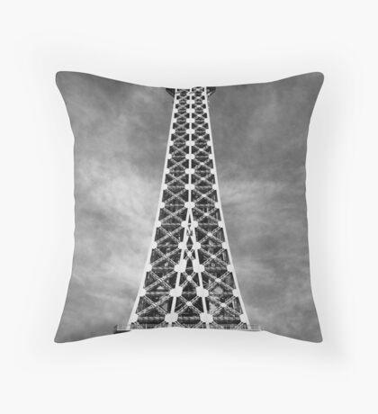No. 26, La Tour Eiffel de Vegas Throw Pillow