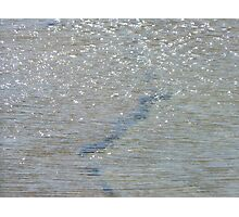 underwater crack Photographic Print