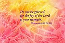 Heavenly Joy- Nehemiah 8:10 by Diane Hall