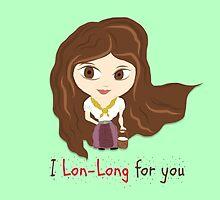 Zelda Valentine: 'Lon Lon' Link & Malon  by Alice Edwards