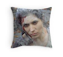 Movie Set Victim Throw Pillow