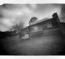 Berima VII - Polaroid Pinhole by David Amos