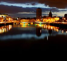 Over the Liffey by Barry McGrath