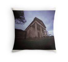 Berima VIII - Polaroid Pinhole Throw Pillow