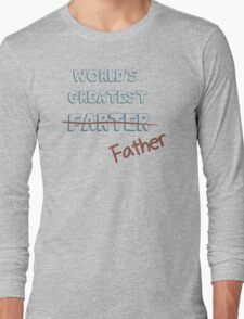 World's Greatest Father Long Sleeve T-Shirt