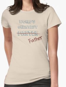 World's Greatest Father Womens Fitted T-Shirt