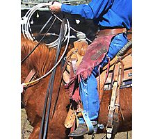 all a cowboy needs Photographic Print