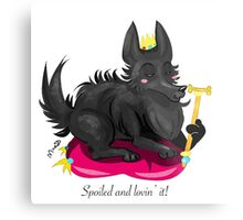 Spoiled dog Metal Print