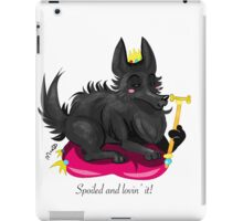 Spoiled dog iPad Case/Skin