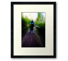 Chase II Framed Print