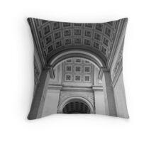 Triomphe No. 5 Throw Pillow