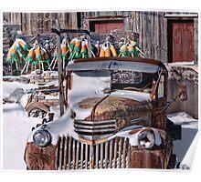 Vintage Chevrolet Poster