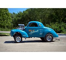 1941 Willys Dragster Photographic Print