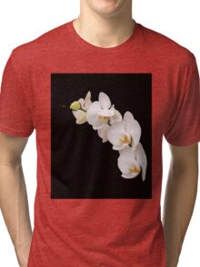 Arc of White Orchids Tri-blend T-Shirt