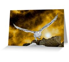 Descendant from heaven Greeting Card