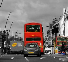 A Quiet Drive Through London. by mariarty