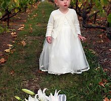 Tiny flowergirl by Kathleen Hill