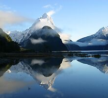 Milford Sound Reflective by swanny