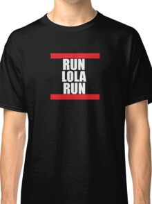 Run lola run  DMC mashup Classic T-Shirt