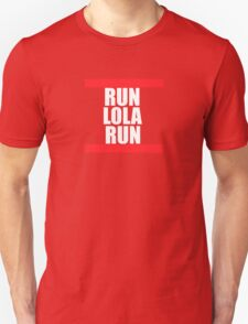 Run lola run  DMC mashup T-Shirt