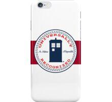 Doctor Who - Converse Logo with Quote iPhone Case/Skin