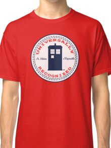 Doctor Who - Converse Logo with Quote Classic T-Shirt