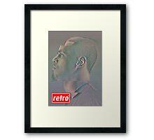 J. Cole - Retro Framed Print