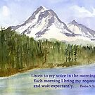 Morning Delight - Psalm 5:3 by Diane Hall