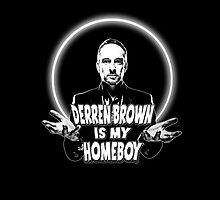 Derren Brown Homeboy (BLK) by CrudeKunst