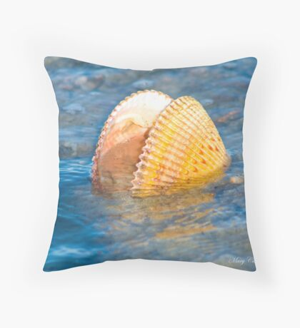 The Ebb and Flow © Throw Pillow