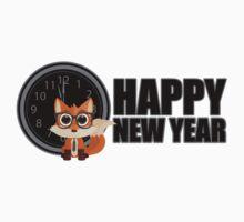Happy New Year - Fox Nerd Kids Clothes