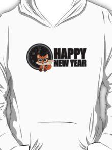 Happy New Year - Fox Nerd T-Shirt