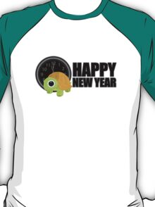 Happy New Year - Turtle T-Shirt