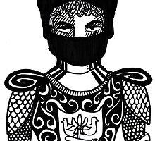 Knight  by doodlefarts