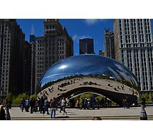 The Chicago Bean Photographic Print