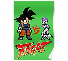 Goku Vs Frieza 8MB Poster