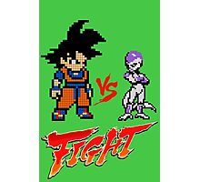 Goku Vs Frieza 8MB Photographic Print
